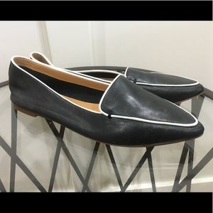 J CREW - EDIE LEATHER LOAFERS - SZ 9